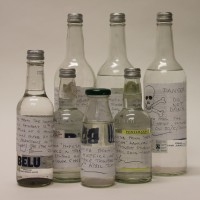 Bill Pearson (early 2014) - 7 Bottles Extracted by De-Humidifier from Toynbee Studios, Early 2014